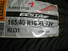 Set of 4 Kuhmo KU31 165/40 16 JDM Custom Import Stretch Hella Flush VW Golf