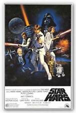 SCIENCE FICTION MOVIE POSTER Star Wars One Sheet
