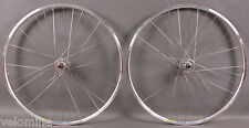 Mavic Open Pro Silver Rims Track Bike Wheels SingleSpeed Wheelset 32H DT Spokes