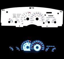 93-96 Camaro Blue Indiglo Glow White Gauges 115 mph
