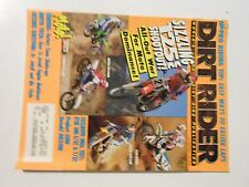 FEBRUARY 1991 DIRT RIDER MAGAZINE,SUZUKI RM250M,KTM300E/CX,T/XC,BAJA 1000,HUSKY