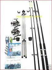 Sea Fishing Kit Set Shakespeare 10ft 2 Rod 2 Reel Tripod Tackle Beachcasters