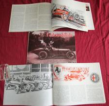 L'automobiliste N°23 : le pilote Jean Chassagne ,voiture de course Alfa-Romeo P3