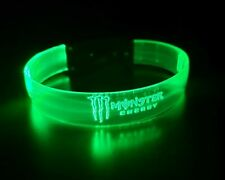 Monster Energy LED Light Up Wristband Bracelet LAST ONE! NEW!