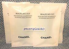 5 x CHANEL BEAUTE DES CILS Nourishing Mascara Base  1ml / .03oz x 5 new pieces