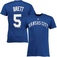 George Brett #5 Kansas City Royals Majestic Men's Royal Name & Number T-Shirt