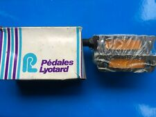 """NEW OLD STOCK 1970'S/80'S VINTAGE BOXED LYOTARD 136R PEDALS,9/16"""" BRITISH THREAD"""
