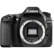 Canon EOS 80D DSLR Body Only 24.2 MP Digital Camera Full HD Wifi ~ NEW