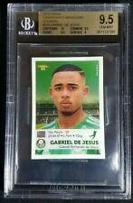 2015 Panini Brasileiro Gabriel Jesus Rookie Sticker RC BGS 9.5 Gem Mint POP 10