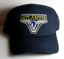 Stargate Atlantis w Dark Blue Horse Logo Baseball/Trucker Cap/Hat-Navy Blue Cap