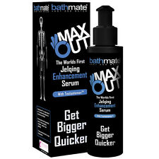 BATHMATE MAX OUT JELQING ENHANCEMENT SERUM WITH TESTOSTOMAX TM HYDROMAX JELQ
