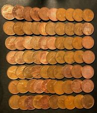 Vintage Great Britain Coin Lot - PENCE - 70 Excellent Coins - Lot #A5