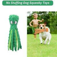 Octopus For Dog Toy new Cuddling Soft - Crinkle Squeaker Gift best Sound- O1F9