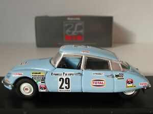 RIO, CITROEN DS 21, RALLY OF MOROCCO 1972, 1:43 Scale, Ponnelle/de Serpos #4434