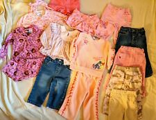 Lot of 14 Toddler Girl Clothes 18 Mo All Season Mixed Lot Carter's Sonoma LNC 1N