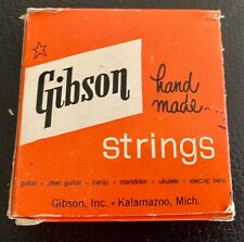 Vintage Gibson 240 Mona-Steel Guitar Strings Made in Usa