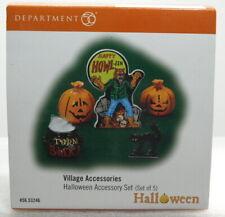 "Dept 56 Halloween ""Halloween Accessory Set (Set 0F 5)"" ""Brand New"""