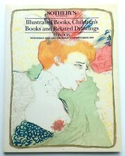 Sotheby's Auction Catalogue - ILLUSTRATED, CHILDREN'S BOOKS, DRAWINGS - Nov 1989