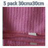 MICROFIBRE CLEANING DUSTERS CAR BATHROOM POLISH GLASS CLOTH TOWELS KITCHEN PINK