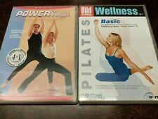 Power Yoga Basic / Wellness Vol. 1 Pilates Basic DVD