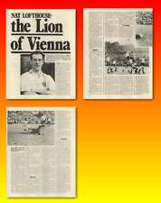 Nat Lofthouse The Lion Of Vienna Old Article