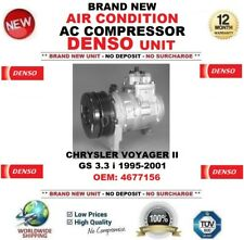 DENSO AIR CONDITION AC COMPRESSOR CHRYSLER VOYAGER II GS 3.3 i 1995-2001 4677156