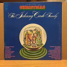 Christmas The Johnny Cash Family EX LP Capitol Top Hit: Christmas As I Knew It