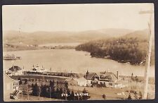 Circa 1925 Real Photo RPPC Postcard Hotel Resort STE AGATHE DES MONTS, Quebec