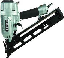 Hitachi 15-Gauge 2-1/2 in. Angled Finish Nailer Kit NT65MA4