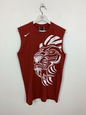 Nike L23 Lebron James Vest T-shirt Tee Top Red Basketball Red Small S Men's
