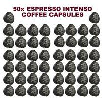50x NESCAFE DOLCE GUSTO ESPRESSO INTENSO COFFEE PODS CAPSULES (SOLD LOOSE)