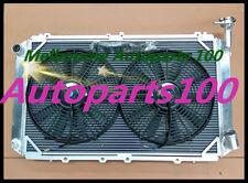 3 ROW ALUMINIUM RADIATOR FOR NISSAN GQ PATROL Y60 4.2L TB42 petrol 87-97 MT+FANS