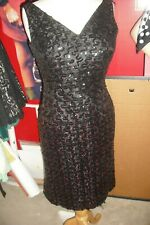 Marilyn Monroe Owned & Worn Black Sequin Wiggle Dress from Studio Costumer