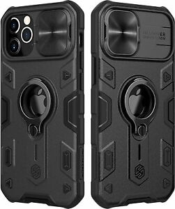 Camera Cover Case / iPhone 12 Pro Max, with Kickstand Slide Lens