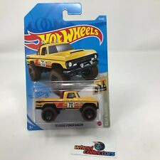 '70 Dodge Power Wagon #3 * Yellow * 2021 Hot Wheels Case A * WF20