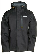 Caterpillar H2O 1310052 black breathable waterproof stretch jacket