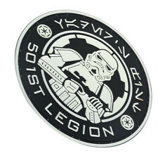 STAR WARS IMPERIAL STORMTROOPER IMPERIAL ARMY 3D PVC RUBBER HOOK LOOP PATCH *07
