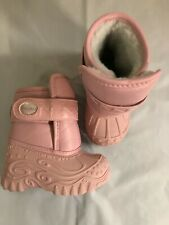 Stride Rite First Walker Cold Front Pink H&L Winter Boots BG21777 Infant Size 6