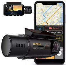 Rexing V3 Dual Camera Front and Inside Cabin Infrared Night Plus Free Hardwire !