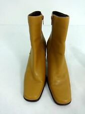 WORTHINGTON WOMENS BROWN LEATHER AKLE BOOTS SIZE 8 M NICE!