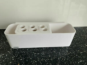 Toothbrush Holder Toothpaste Caddy Stand Organiser