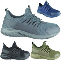 Mens Ladies Running Trainers Womens Fitness Gym Sports Comfy Lace Up Shoes Size