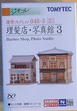 Tomytec N Scale 254911 046-3 Barber Shop & Photo Shop 3   4543736254911