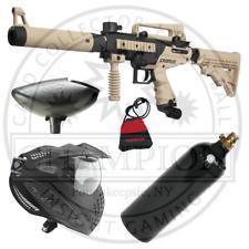 Tippmann Tan Cronus Tactical Paintball Gun - Complete Starter Marker Setup