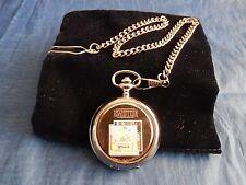 Led zeppelin (3) chrome montre de poche avec chaîne (nouveau)