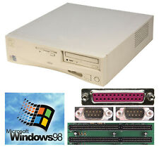 Computer for Windows 98 with Rs232 Lpt Parallel 1.44mb Fdd 2x Isa Lan Sound #57