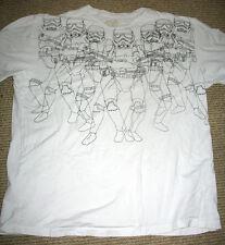 Marc Ecko Star Wars Stormtroopers White 2XL XXL T-Shirt