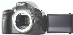 N,MINT Nikon D5100 16.2MP APS-C DSLR Camera w/ SD 2GB 23,882 shots From Japan