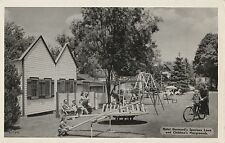 Hotel Germand Cabins and Childrens Playground in Bushkill PA OLD