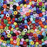 Wholesale 5000pcs  Czech Glass Seed Round Spacer beads Jewelry Making 2mm